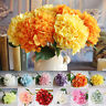 Bunch Artificial Hydrangea Flowers Silk Flowers Wedding Party Garden Home Decor