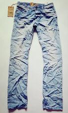 NEW Men's JACK & JONES creased Jeans W29 L30  CLARK JOS 216 PRV NOOS 12052362