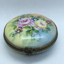 Vintage Limoges Trinket Box - Mint Cond.
