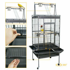 """Bird Cage 68"""" Large Play Top Parrot Finch Cage Macaw Cockatoo Pet Supply"""