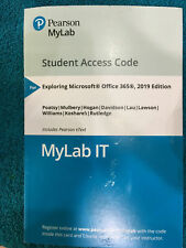 """MyITLab with Pearson EText--Access Card--For Exploring """"MyLab IT"""" Office 2019..."""