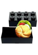 LEGO boîte goûter Noir, repas, Black lunch box, Schwarz Lunchpacket