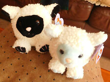 "Lot of 2 ~PUFFKINS Lambs ~ ""Bluebelle"" '98 (LIMITED EDITION)  & ""Lizzy"" '97"