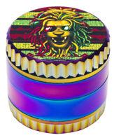 """1.9/""""  50 mm 4 Part UV Print Loin A Grinder USA SELLER 15550AN"""
