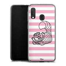 Samsung Galaxy A20e Silikon Hülle Case Handyhülle - Cheshire Cat
