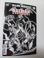Batman Who Laughs #1 Dark Nights DC 2017 One Shot 3rd Print B&W Variant 9.6 NM+