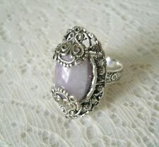 Moroccan Amethyst Ring, boho bohemian gypsy hippie hipster new age metaphysical