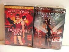 DVD (2) Resident Evil ( 2002, Special Edition)/ APOCALYPSE(2004 Special Edition)