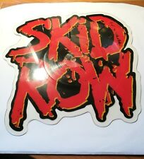 SKID ROW - 18 & LIFE - 1989 WEA/ATLANTIC LIMITED EDITION SHAPED PICTURE DISC NEW