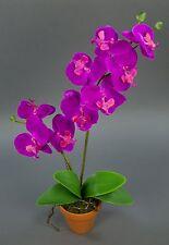 Orchidee Real Touch 60cm fuchsia im Topf GA künstliche Blumen Kunstblumen