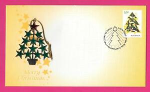 """2009 AUSTRALIA """" CHRISTMAS """" ~ PNC WITH A CHRISTMAS TREE DECORATION ATTACHED ~"""