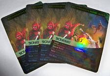 4x Organized Crime Wave - FOIL PROMO CARDS - MARVEL LEGENDARY OP KiT