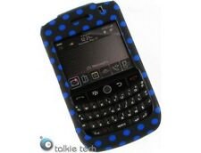 Blue Polka Dots Protector Plastic Phone Cover Case For BlackBerry Curve 8900
