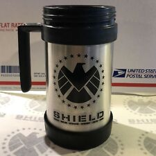 • SHIELD • MUG / IDENTIFICATION DECALS • PROP REPLICA • MARVEL AGENTS COULSON •