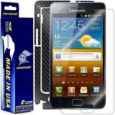 ArmorSuit MilitaryShield Samsung Galaxy S2 International Screen + Black Carbon