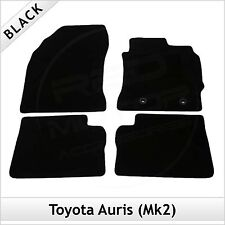 Toyota Auris Mk2 E180 2012 onwards Fully Tailored Fitted Carpet Car Mats BLACK