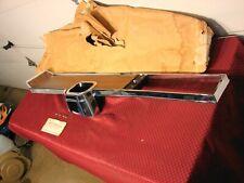 67 PONTIAC GTO NOS 4 SPEED CONSOLE TOP CHROME BEZEL GM pt# 9788092