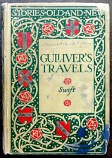 Gulliver's Travels undated c.1920s edition by Dean Swift pub by Blackie FAULTS
