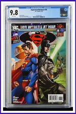 Superman Batman #70 CGC Graded 9.8 DC May 2010 White Pages Comic Book