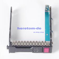 "NEU 2.5"" SFF SAS SATA  Festplatten Rahmen caddy für HP Proliant DL385 G10 Server"