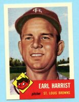 1953 Topps Archives #65 Earl Harrist - St. Louis Browns