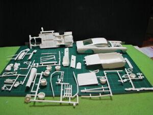 VINTAGE 1/25 AMT 1969 FORD TORINO MODIFIED STOCKER UN-BUILT/PARTS/LOT/JUNKYARD