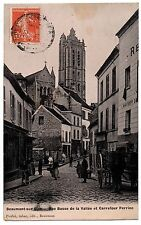CPA 95 - BEAUMONT SUR OISE (Val d'Oise) - Rue Basse de la Vallée et Carrefour