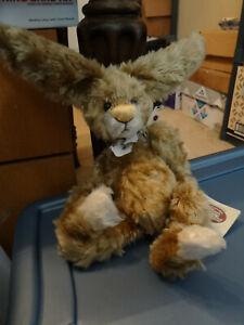 Ganz Cottage Collectibles Stuffed Rabbit Patton First Edition 3000