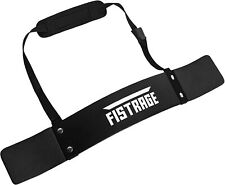 FISTRAGE Arm Blaster Biceps Curl Support for Bodybuilding & Weight Lifting