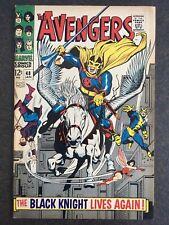 Avengers 48 1st Black Knight Dane Whitman 1968 ORIGINAL OWNER Eternals MOVIE🔥🔥