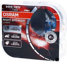 OSRAM H11 Night Breaker LASER Next Generation 150% mehr Helligkeit Power DUO BOX