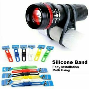Rubber Band Elastic Strap Tie Holder For Bike Bicycle Light GPS PDA Mobile Phone