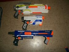 Nerf GUNS FOR PARTS OR REPAIR Dart gun Rampage Retailiator ECS-10