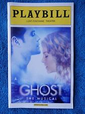 Ghost - Lunt-Fontanne Theatre Playbill - Opening Night - April 23rd, 2012
