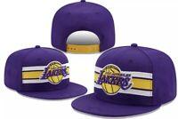 Los Angeles Lakers LA New Era Adjustable 9fifty SnapBack Hat Cap