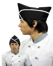 Popular Black and White Trim Adjustable Garrison Chef Hat, Chef Garrison Hat New