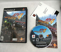 PS2 ATV Offroad Fury 4 - Playstation 2 Game Complete Resurfaced off road racing