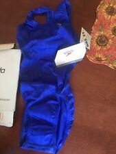 GIRLS AQUABLADE RECORDBREAKER (YOUTH) Swimsuit 719039 Size 22 Navy NWT