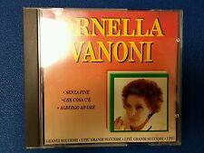 VANONI ORNELLA - I PIÙ GRANDI SUCCESSI. CD