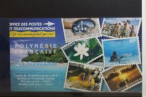 Französisch-Polynesien 733-744 ** postfrisch als Markenheftchen Tourismus #TA627