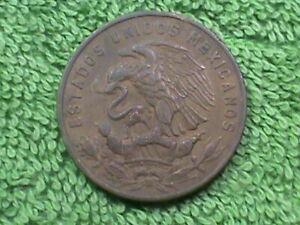MEXICO 20 Centavos 1956 XF