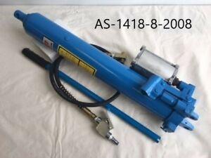 HYDRAULIC / AIR  8 TON LONG STROKE RAM JACK, ENGINE CRANE, LIFT HOIST (HR8AH)
