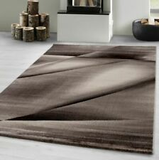 Budget persan marron chocolat traditionnelle orientale small medium tapis 120x170 cm.