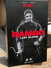 CYBER-X STUDIO Rambo Last Blood CX001 BOX FIGURE 1/6 ACTION FIGURE TOYS