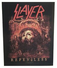 Slayer Repentless dossard patche dorsal officiel licence patch à coudre grand
