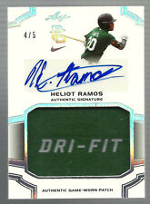 2016 Leaf Perfect Game #PA-HR1 Heliot Ramos Patch Relic Auto 4/5 RC