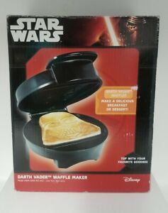 Star Wars Darth Vader Waffle Maker - Sith Lord On Your Waffles- Waffle Iron