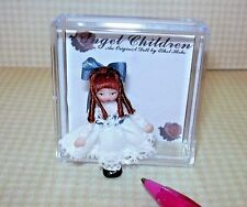 "Miniature Ethel Hicks Tiny Porcelain Doll ""Zoe"" LE of 75: DOLLHOUSE 1/12"