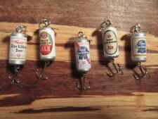 Pabst Blue Ribbon Genuine Ale 5 Different Vintage Beer Fishing Lures