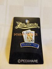 Atlantic City NJ Playing Cards Twenty One Blackjack Collector's Souvenir Pin